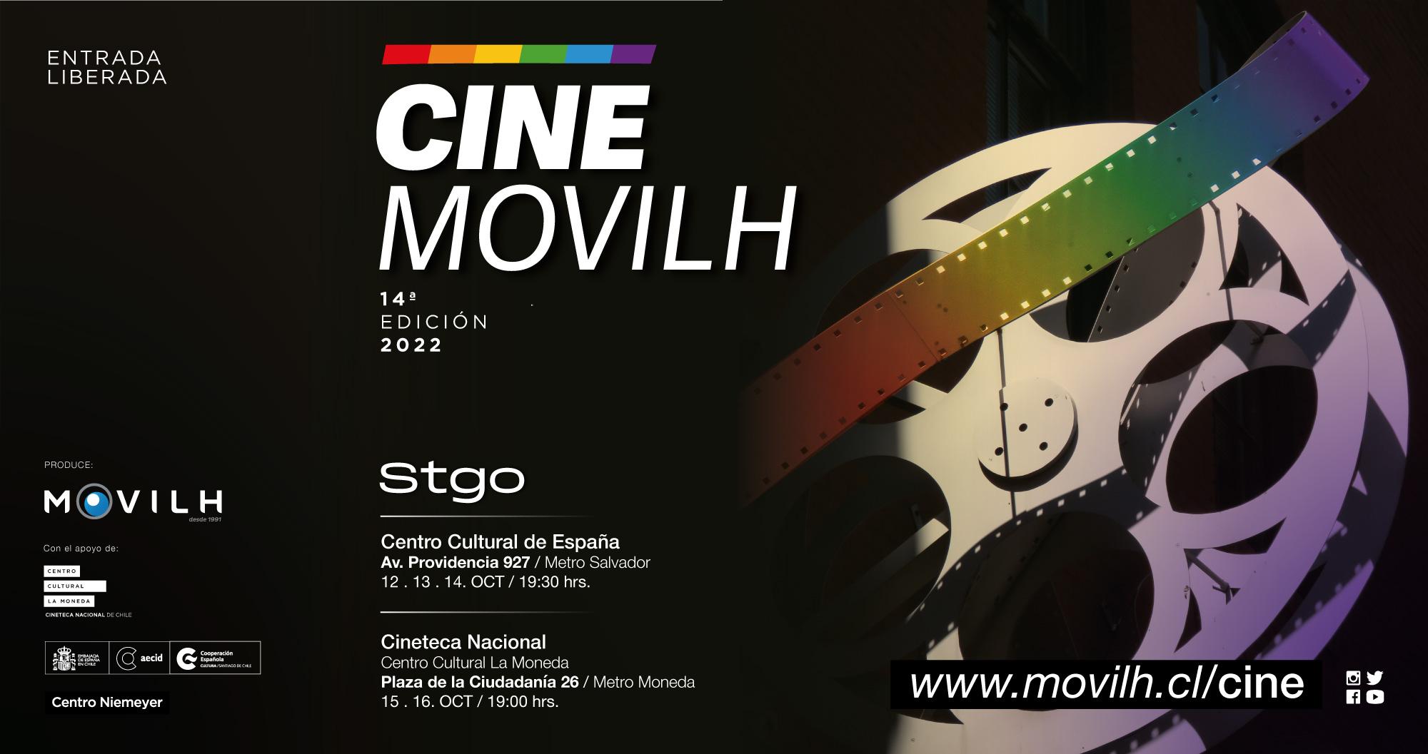 Cine Movilh 2015 / Festival de cine Gay, Lésbico, Bisexual y Transexual / @Movilh