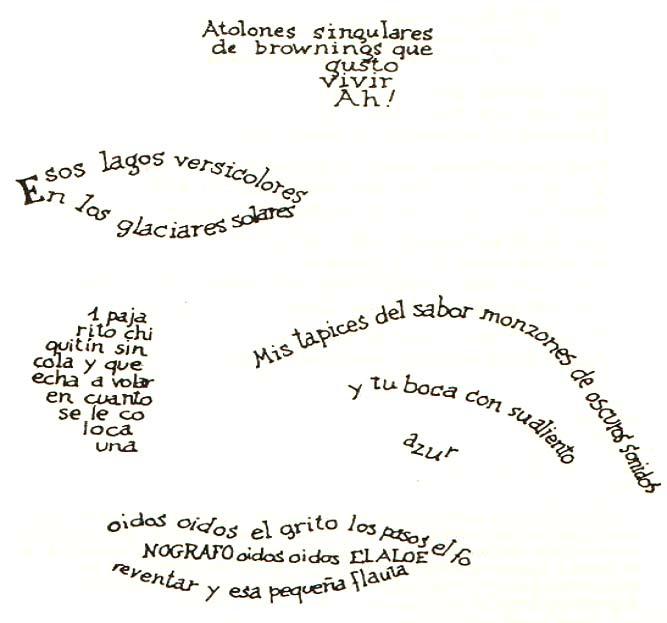 Ejemplos de caligramas fáciles - Imagui
