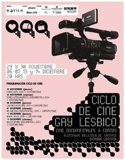 Ciclo de Cine Gay, Lesbico y Trans