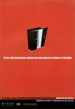 Campaña consumo abusivo de drogas