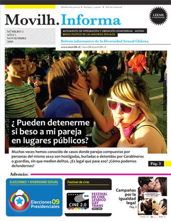 Movilh Informa / Noviembre / Gay Lesbiana Transexual Chile 2009