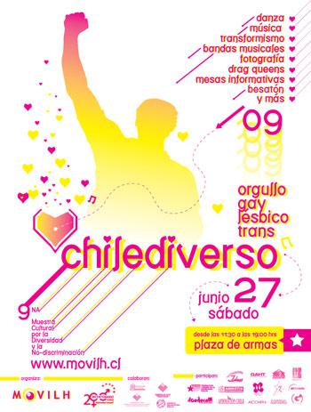 Movilh / Novena muestra cultural / Chilediverso / Gay Lesbiana Transexual chile