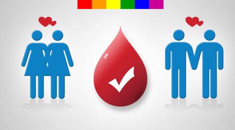 Homosexuales Podemos donar Sangre, Noticia y Reflexion