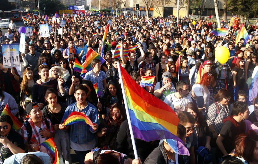 Debate sobre el matrimonio homosexual en chile a favor