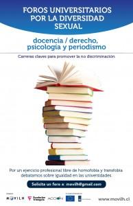cartel-foros-universidades-MOVILH-2014