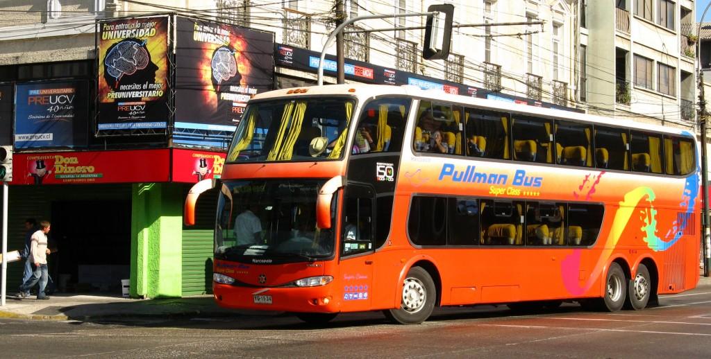 yg1534 - paradiso 1800 dd - pullman bus - valparaiso